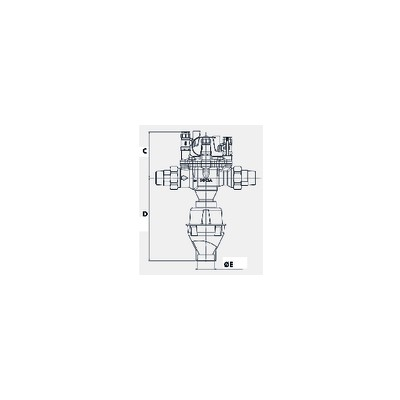 Thermostat -5/28°C - JOHNSON CONTROLS : A19AAC-9005