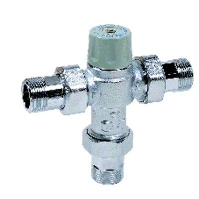 "Mitigeur thermostatique chrome MMM3/4"" CALEFFI"