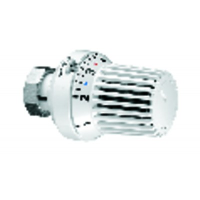 Tête thermostatique UNI XH blanc (X 10) - OVENTROP : 1011365