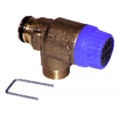 Thermocouple - DIFF pour Chaffoteaux : 200169