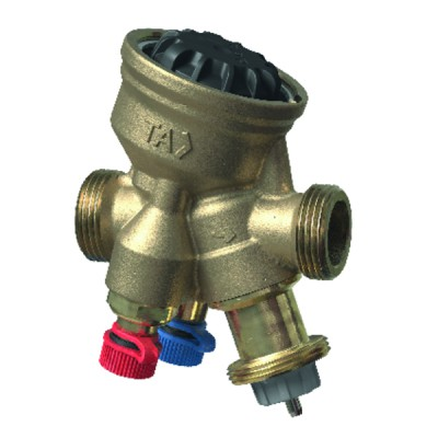 """Vanne d'équilibrage TA-COMPACT NF M1/2"""" - IMI HYDRONIC : 52164-010"""