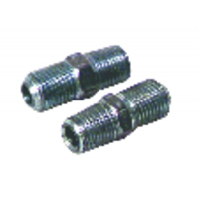 "Nipple M1/8"" x M10/100 conique (X 2)"