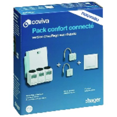 Pack COVIVA chauffage - HAGER : PACKCOVIVAEC