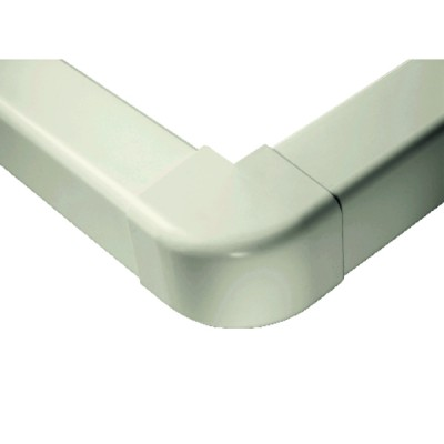 Angle externe 60 x 80 blanc pur 9010