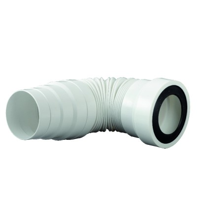 Pipe souple de WC 555mm Ø 90/110 PA2555 - SIAMP : 92 2555 10