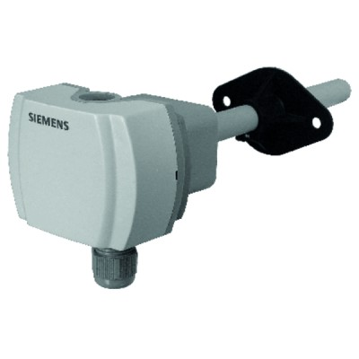 Sonde qualité air gaine CO2 temp 0...10Vcc 0...5Vcc 0...2000ppm 0...50°C ou -35...35°C - SIEMENS : QPM2160
