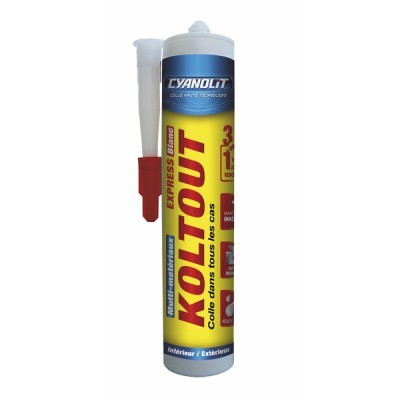 KOLTOUT EXPRESS blanc - cartouche 290ml - AC MARCA IDEAL : 33300149