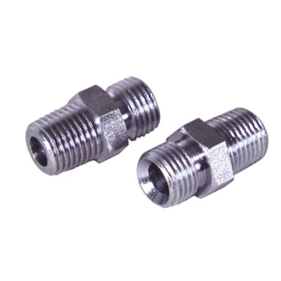 "Nipple fioul M1/4"" conique x M3/8""  (X 2) - DIFF"