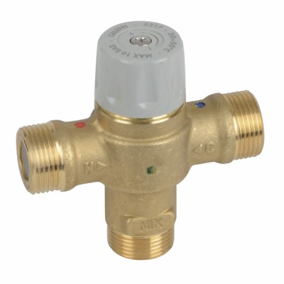 """Mitigeur thermostatique compact MMM3/4"""" CALEFFI - DIFF"""