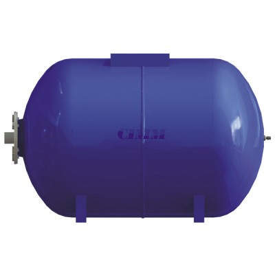 Réservoir à vessie interchangeable horizontal 50L  - CIMM : 630050