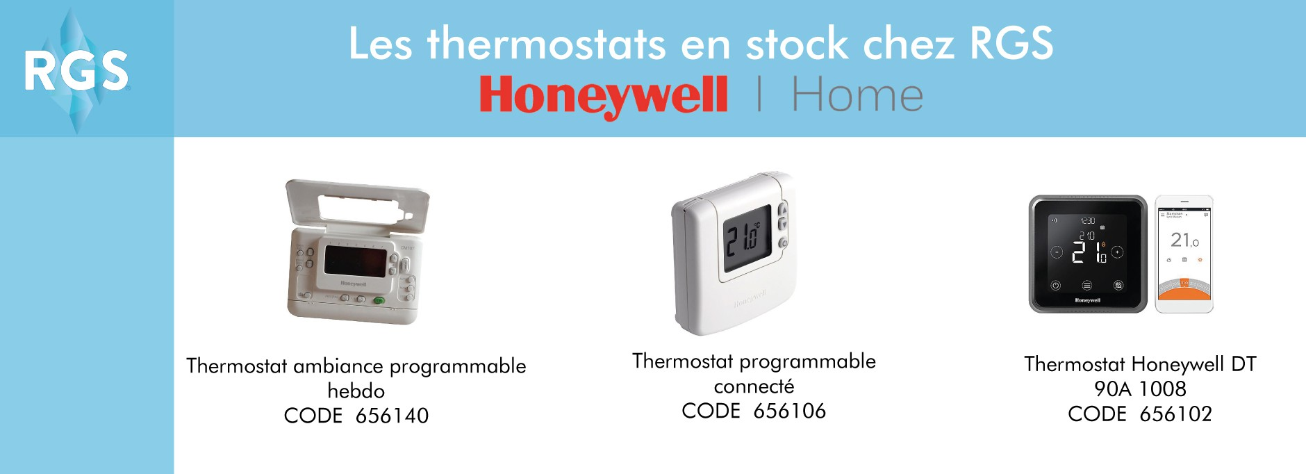 Les thermostats Honeywell Home